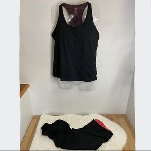 Pure NRG workout set Tank top and leggings size XL